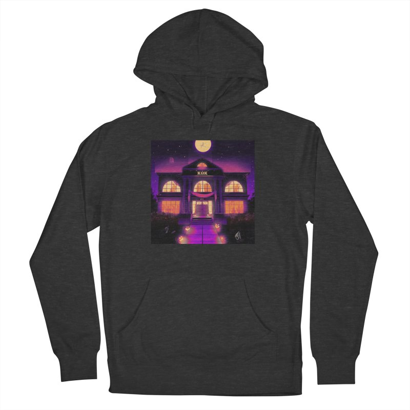 FRIGHTENING FRATHOUSE Men's French Terry Pullover Hoody by Stephen Draws's Artist Shop