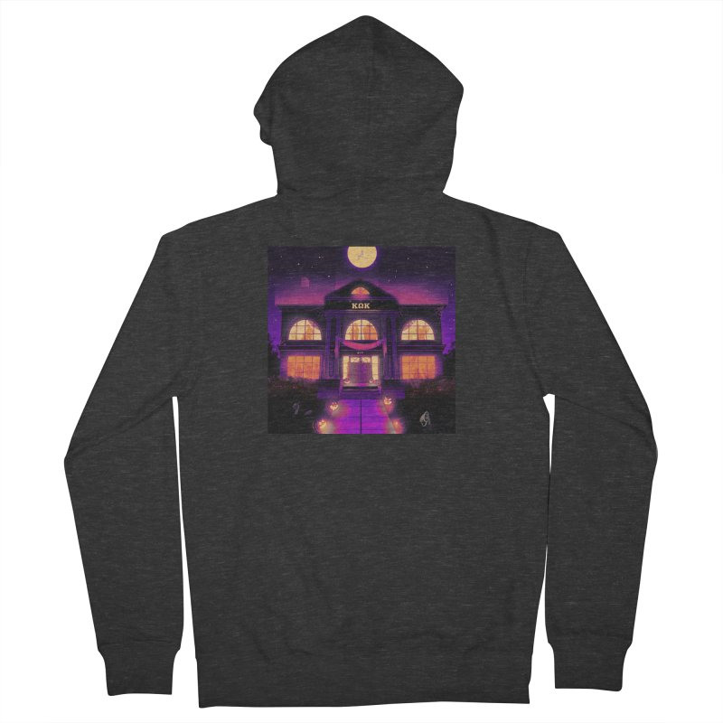 FRIGHTENING FRATHOUSE Men's French Terry Zip-Up Hoody by Stephen Draws's Artist Shop