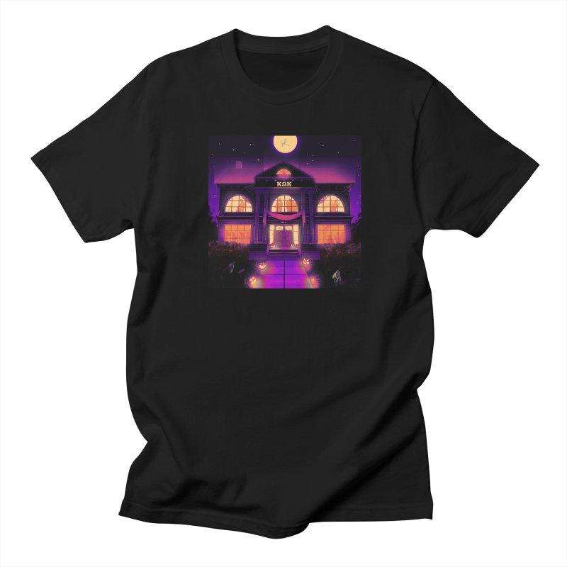 FRIGHTENING FRATHOUSE Women's Regular Unisex T-Shirt by Stephen Draws's Artist Shop