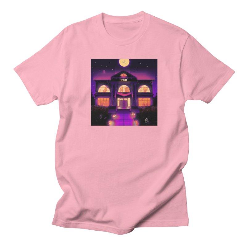 FRIGHTENING FRATHOUSE Men's Regular T-Shirt by Stephen Draws's Artist Shop