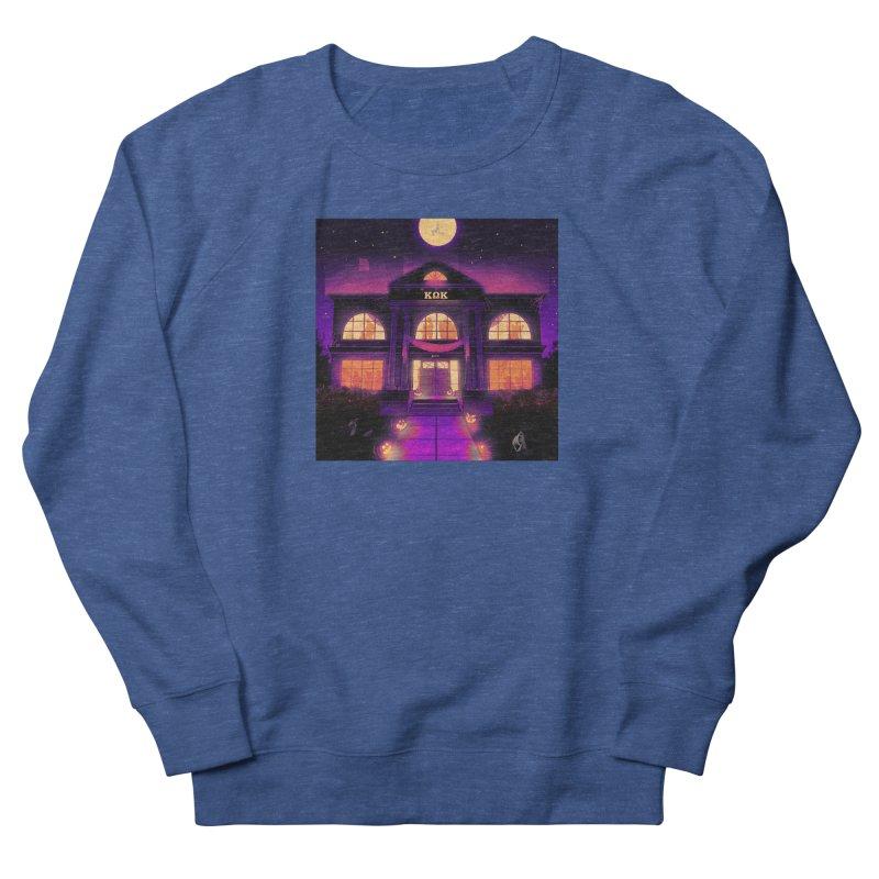 FRIGHTENING FRATHOUSE Women's French Terry Sweatshirt by Stephen Draws's Artist Shop