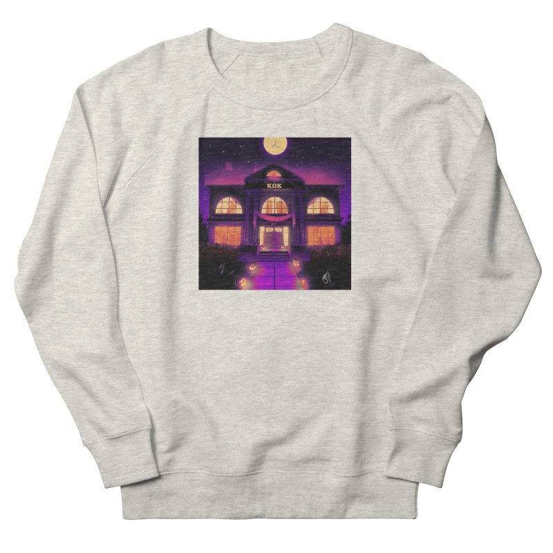 FRIGHTENING FRATHOUSE Women's French Terry Sweatshirt by Stephen Draws's Artist Shop