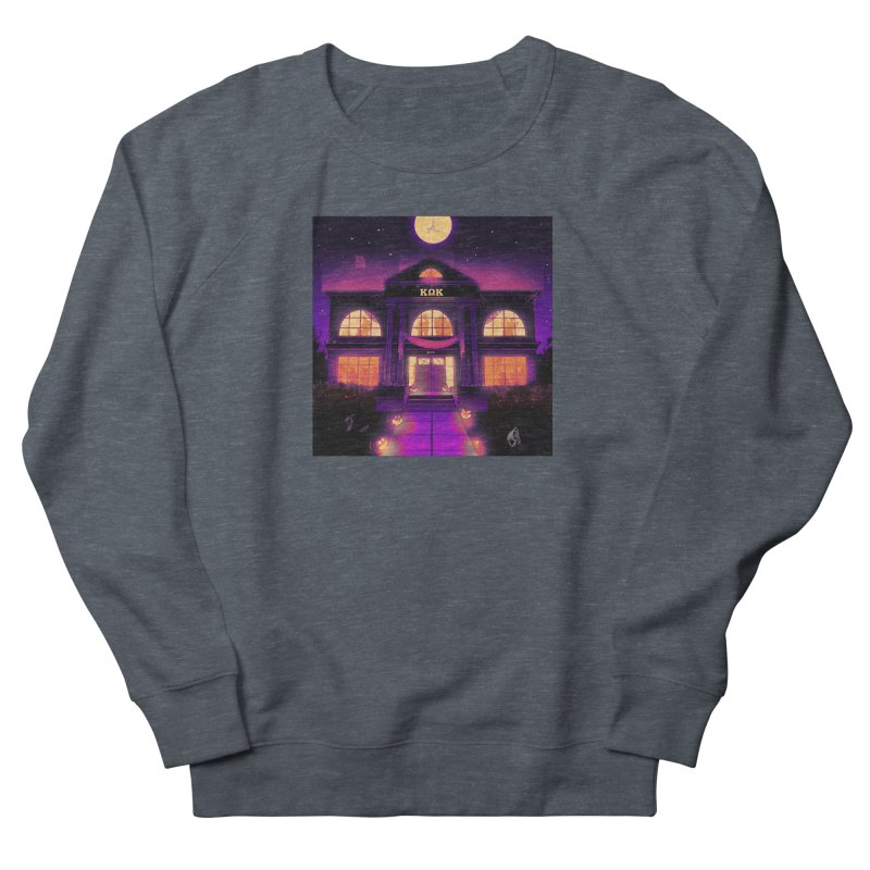 FRIGHTENING FRATHOUSE Men's French Terry Sweatshirt by Stephen Draws's Artist Shop