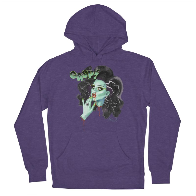BRIDE OF FRANKENWEINER Men's French Terry Pullover Hoody by Stephen Draws's Artist Shop