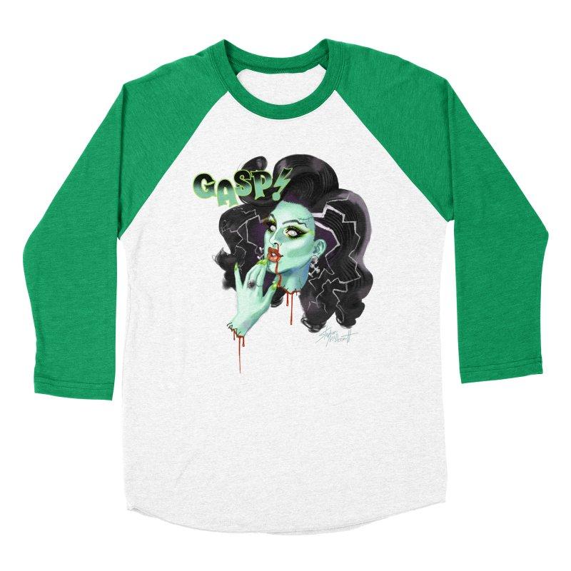 BRIDE OF FRANKENWEINER Women's Baseball Triblend Longsleeve T-Shirt by Stephen Draws's Artist Shop