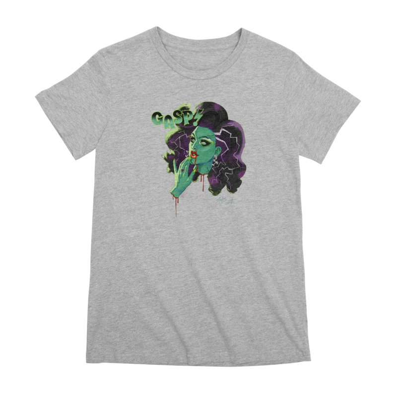 BRIDE OF FRAINKENWEINER (NIGHT EDITION) Women's Premium T-Shirt by Stephen Draws's Artist Shop