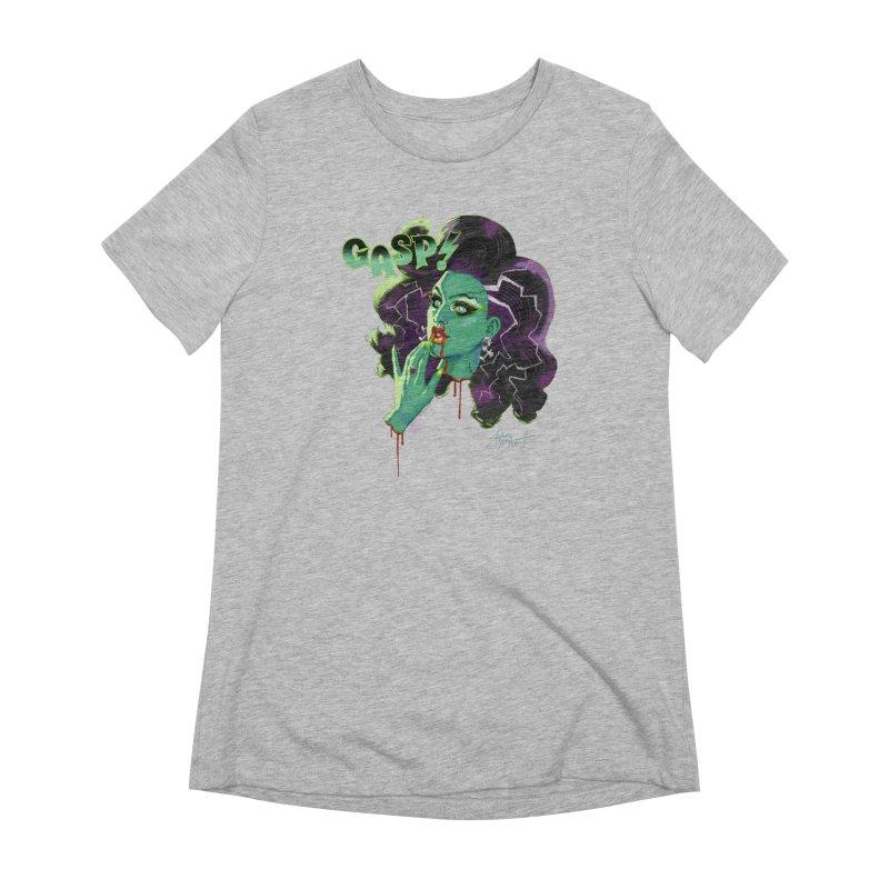 BRIDE OF FRAINKENWEINER (NIGHT EDITION) Women's Extra Soft T-Shirt by Stephen Draws's Artist Shop