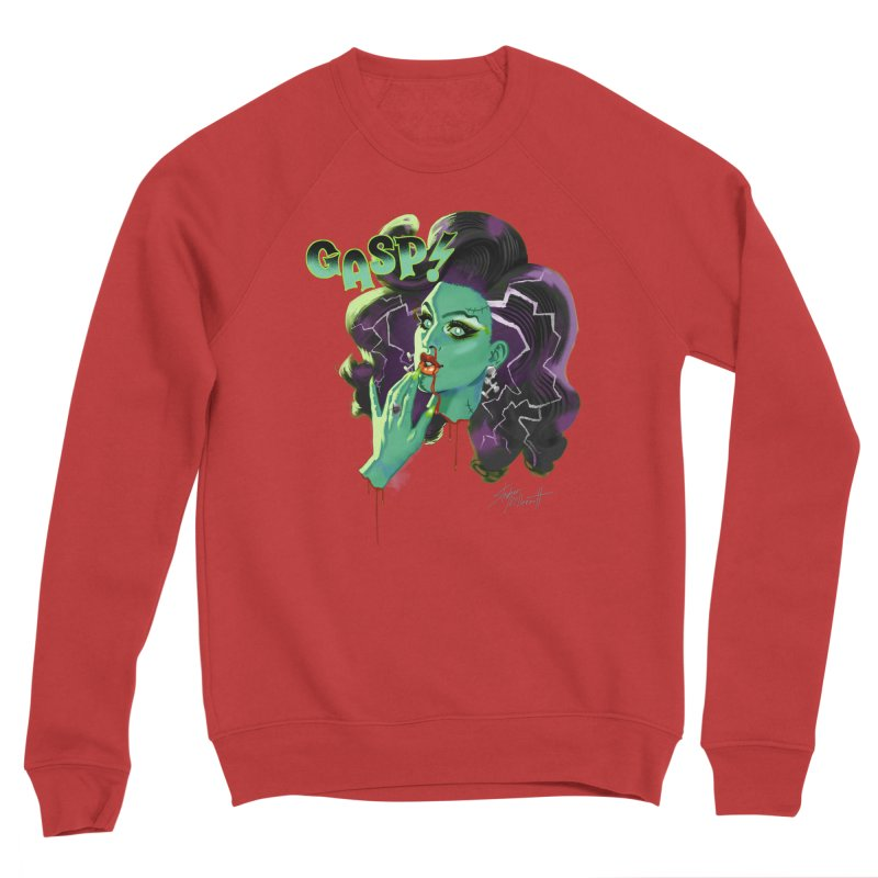 BRIDE OF FRAINKENWEINER (NIGHT EDITION) Women's Sponge Fleece Sweatshirt by Stephen Draws's Artist Shop