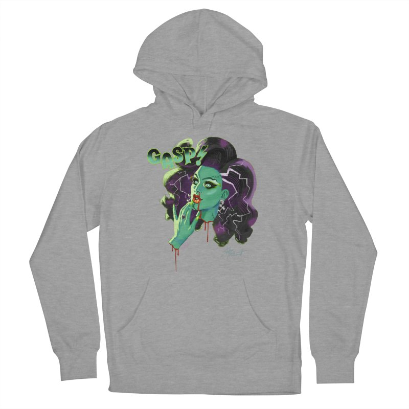 BRIDE OF FRAINKENWEINER (NIGHT EDITION) Men's French Terry Pullover Hoody by Stephen Draws's Artist Shop