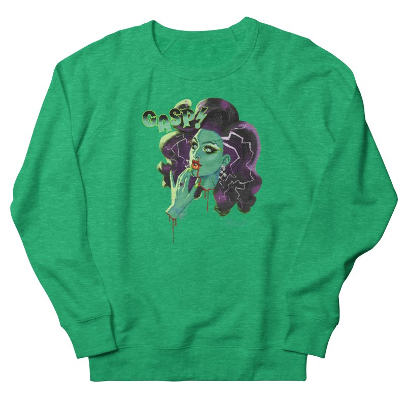 BRIDE OF FRAINKENWEINER (NIGHT EDITION) Women's French Terry Sweatshirt by Stephen Draws's Artist Shop