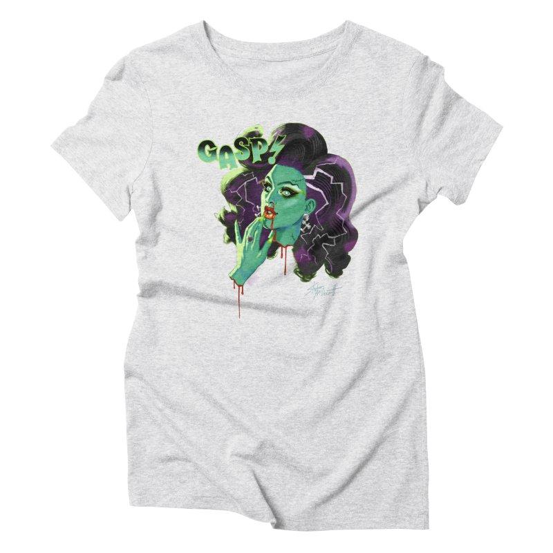 BRIDE OF FRAINKENWEINER (NIGHT EDITION) Women's T-Shirt by Stephen Draws's Artist Shop