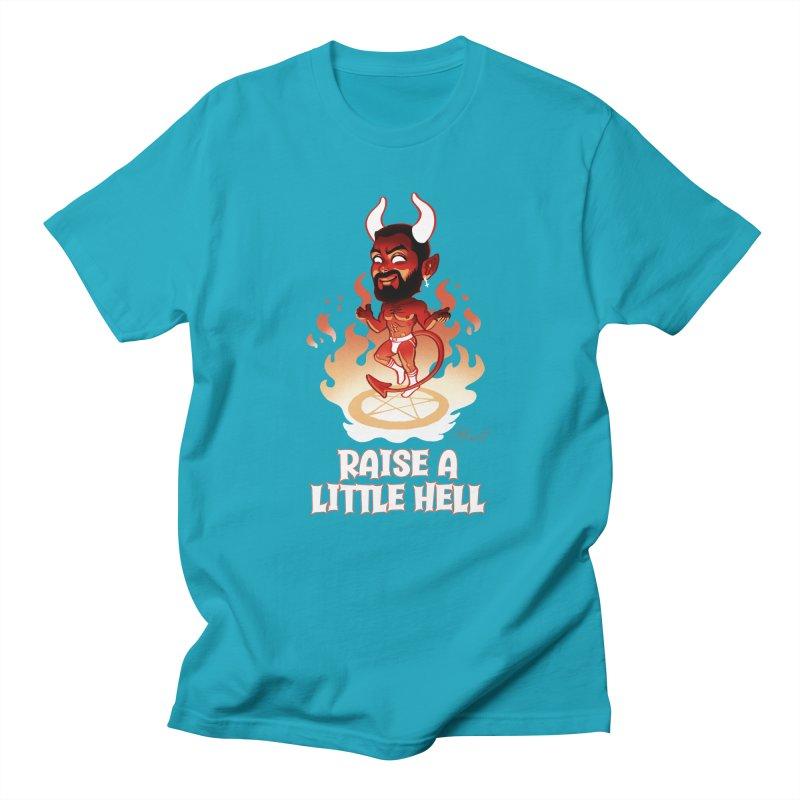 RAISE A LITTLE HELL Men's T-Shirt by Stephen Draws's Artist Shop