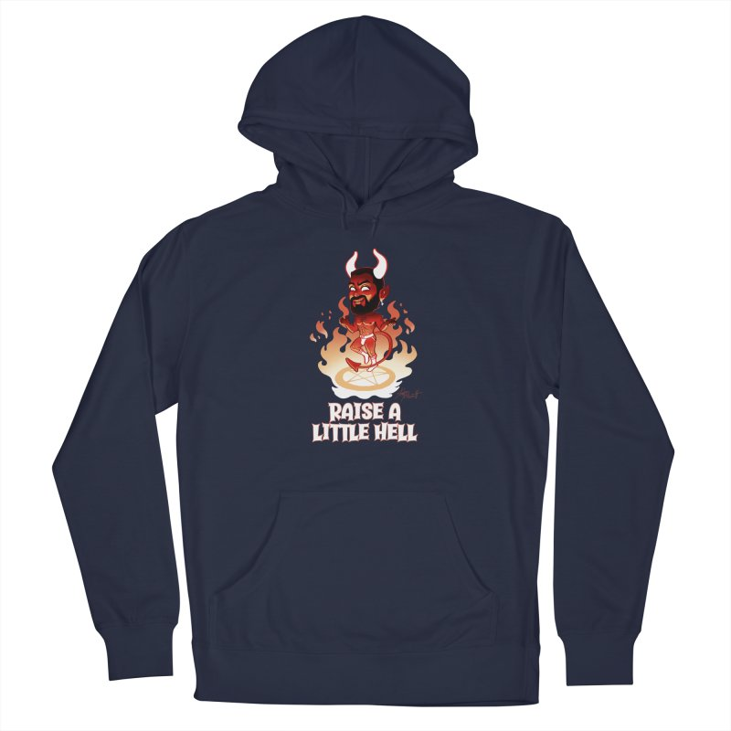 RAISE A LITTLE HELL Men's Pullover Hoody by Stephen Draws's Artist Shop