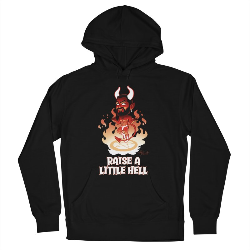 RAISE A LITTLE HELL Men's French Terry Pullover Hoody by Stephen Draws's Artist Shop