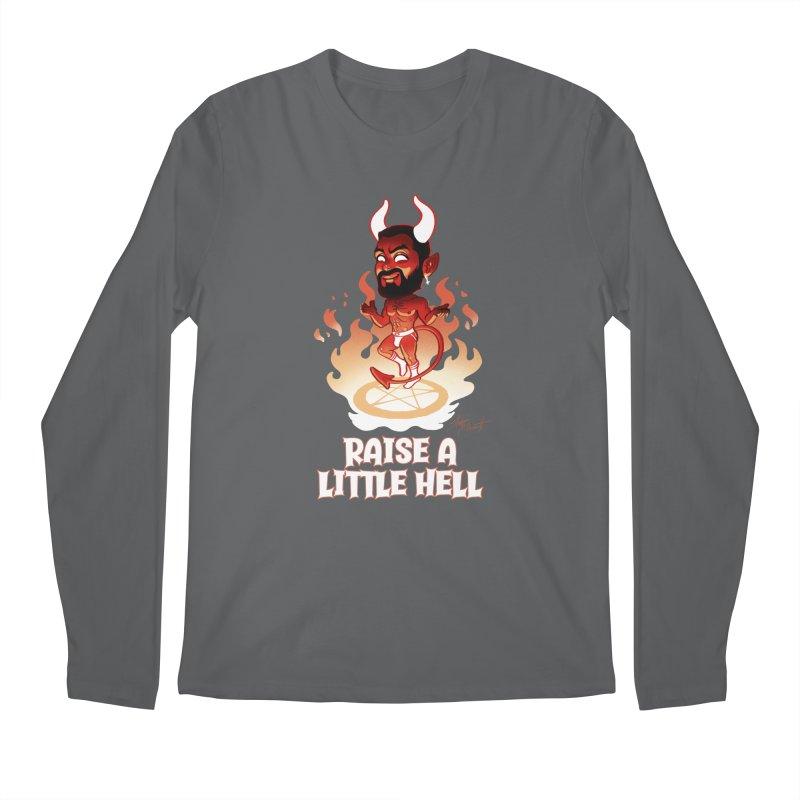 RAISE A LITTLE HELL Men's Longsleeve T-Shirt by Stephen Draws's Artist Shop