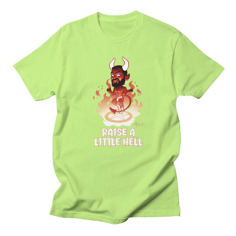 RAISE A LITTLE HELL Men's Regular T-Shirt by Stephen Draws's Artist Shop