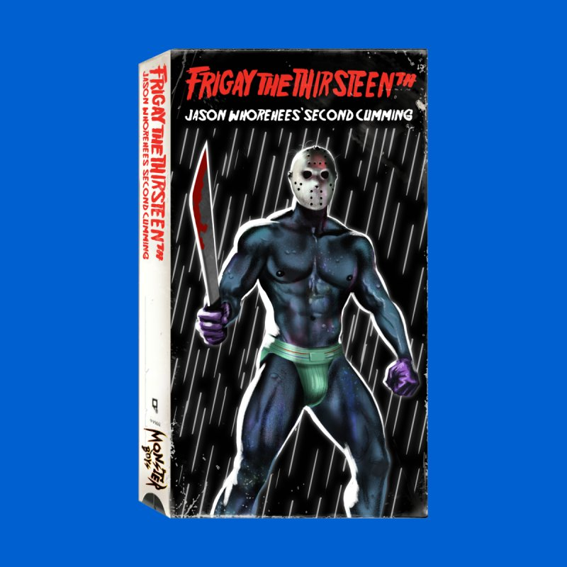FRIGAY THE THIRSTEENTH VHS COVER by Stephen Draws's Artist Shop
