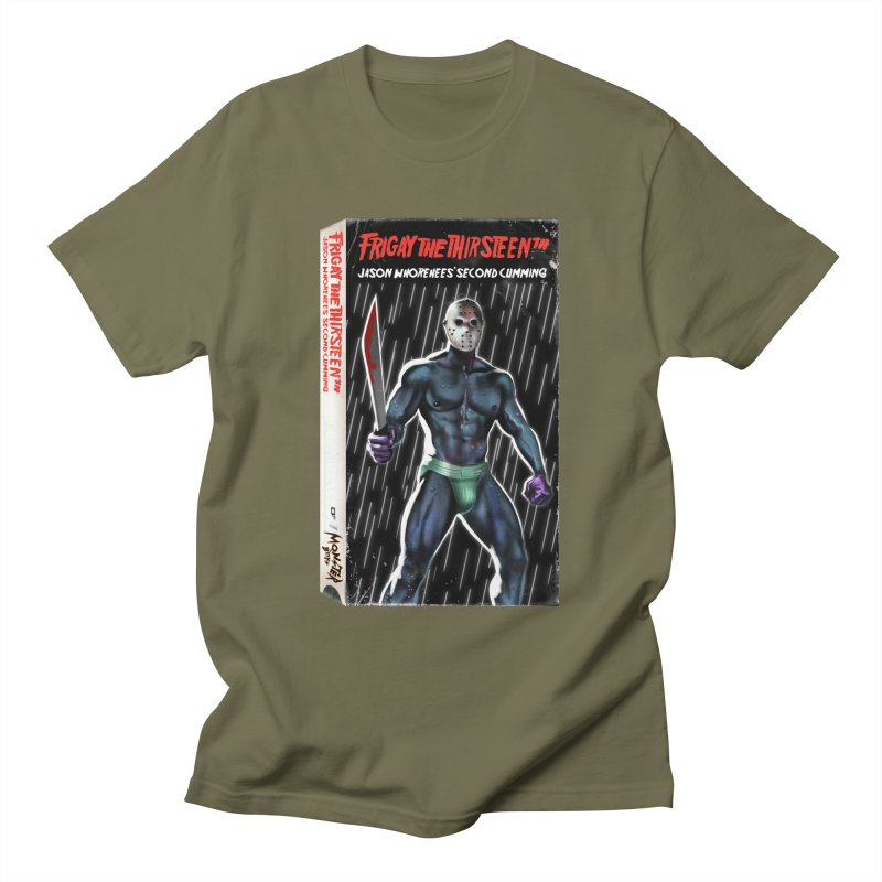 FRIGAY THE THIRSTEENTH VHS COVER Men's T-Shirt by Stephen Draws's Artist Shop