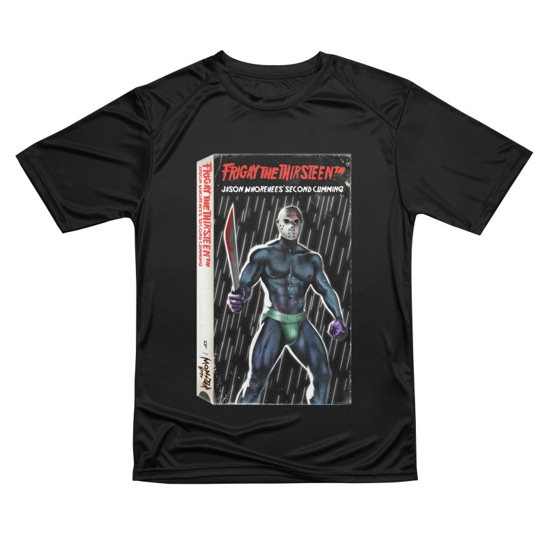 FRIGAY THE THIRSTEENTH VHS COVER Women's Performance Unisex T-Shirt by Stephen Draws's Artist Shop