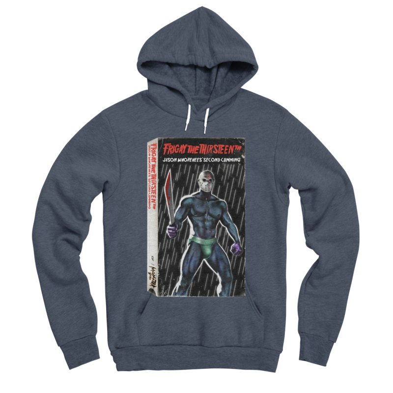 FRIGAY THE THIRSTEENTH VHS COVER Women's Sponge Fleece Pullover Hoody by Stephen Draws's Artist Shop