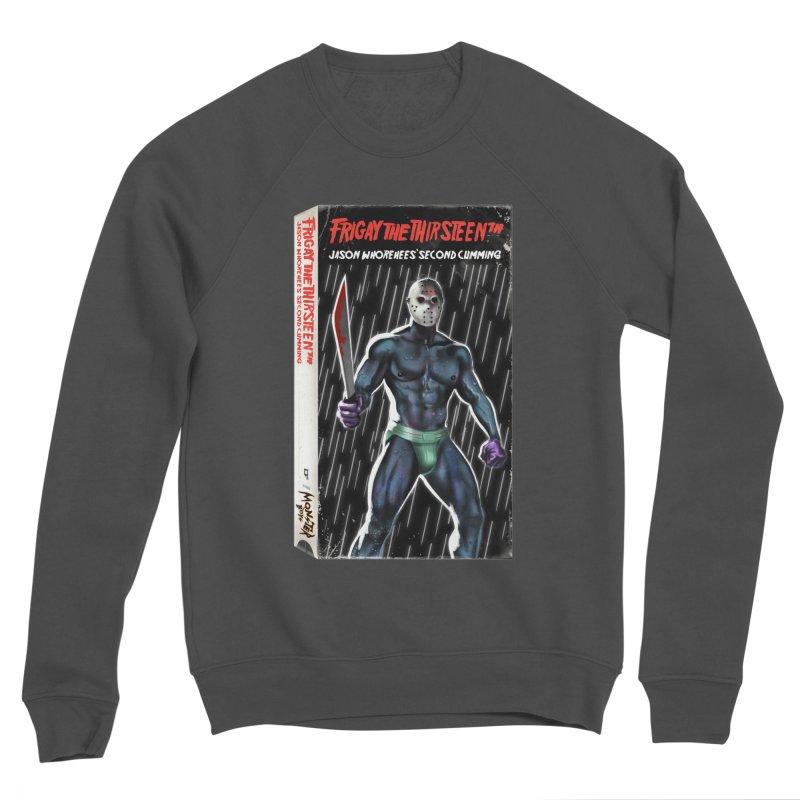 FRIGAY THE THIRSTEENTH VHS COVER Men's Sponge Fleece Sweatshirt by Stephen Draws's Artist Shop