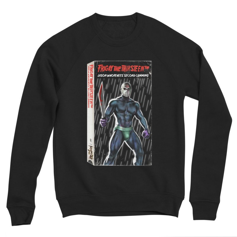 FRIGAY THE THIRSTEENTH VHS COVER Women's Sponge Fleece Sweatshirt by Stephen Draws's Artist Shop