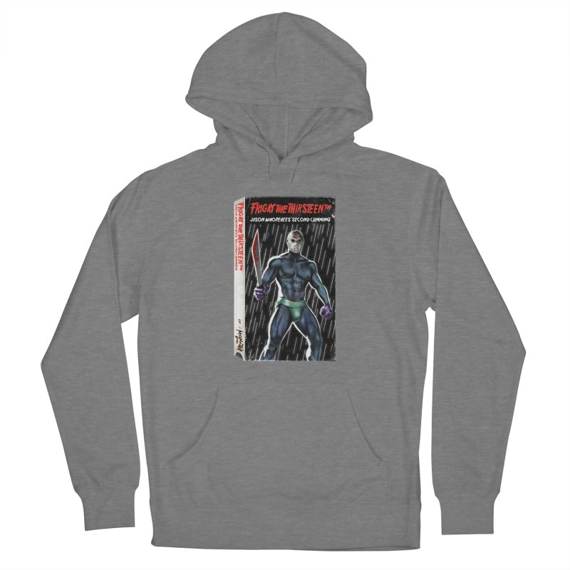FRIGAY THE THIRSTEENTH VHS COVER Women's Pullover Hoody by Stephen Draws's Artist Shop