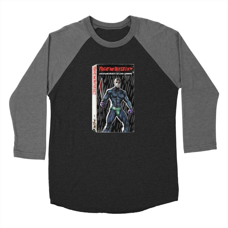 FRIGAY THE THIRSTEENTH VHS COVER Women's Baseball Triblend Longsleeve T-Shirt by Stephen Draws's Artist Shop