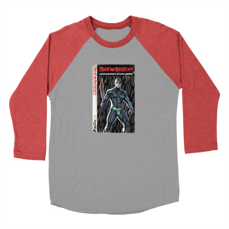 FRIGAY THE THIRSTEENTH VHS COVER Men's Longsleeve T-Shirt by Stephen Draws's Artist Shop