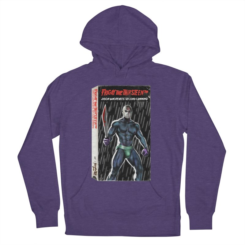 FRIGAY THE THIRSTEENTH VHS COVER Men's French Terry Pullover Hoody by Stephen Draws's Artist Shop