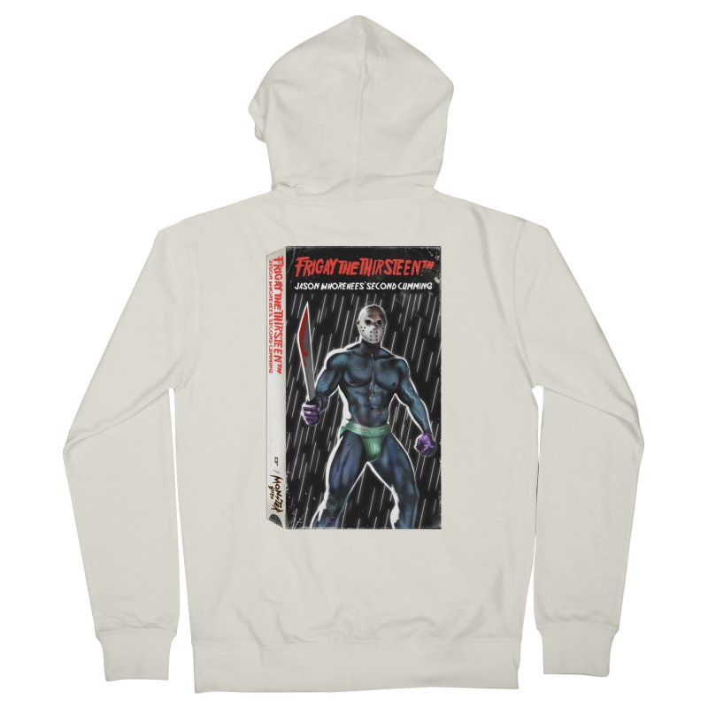 FRIGAY THE THIRSTEENTH VHS COVER Women's Zip-Up Hoody by Stephen Draws's Artist Shop