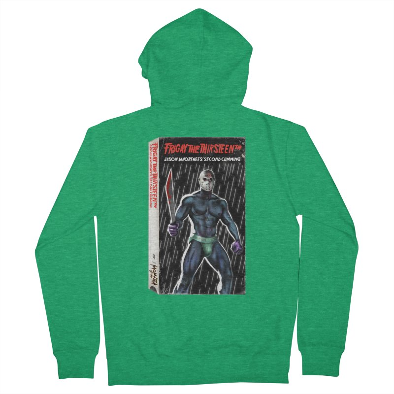 FRIGAY THE THIRSTEENTH VHS COVER Men's Zip-Up Hoody by Stephen Draws's Artist Shop