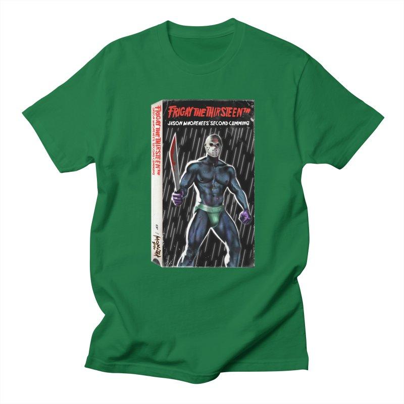 FRIGAY THE THIRSTEENTH VHS COVER Women's Regular Unisex T-Shirt by Stephen Draws's Artist Shop