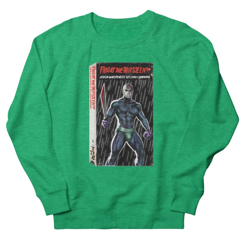 FRIGAY THE THIRSTEENTH VHS COVER Women's Sweatshirt by Stephen Draws's Artist Shop