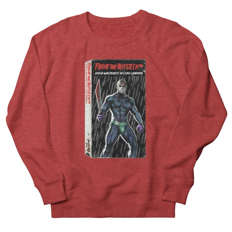 FRIGAY THE THIRSTEENTH VHS COVER Women's French Terry Sweatshirt by Stephen Draws's Artist Shop