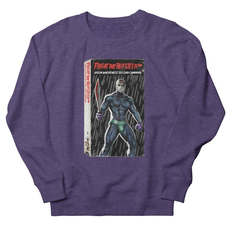 FRIGAY THE THIRSTEENTH VHS COVER Men's French Terry Sweatshirt by Stephen Draws's Artist Shop