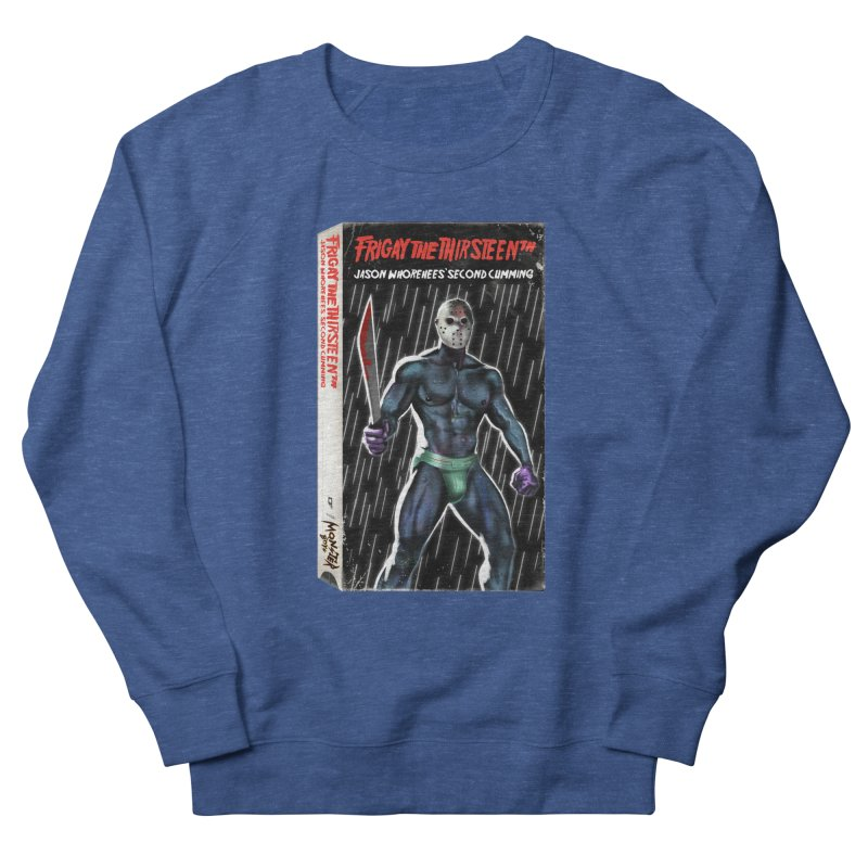 FRIGAY THE THIRSTEENTH VHS COVER Men's Sweatshirt by Stephen Draws's Artist Shop