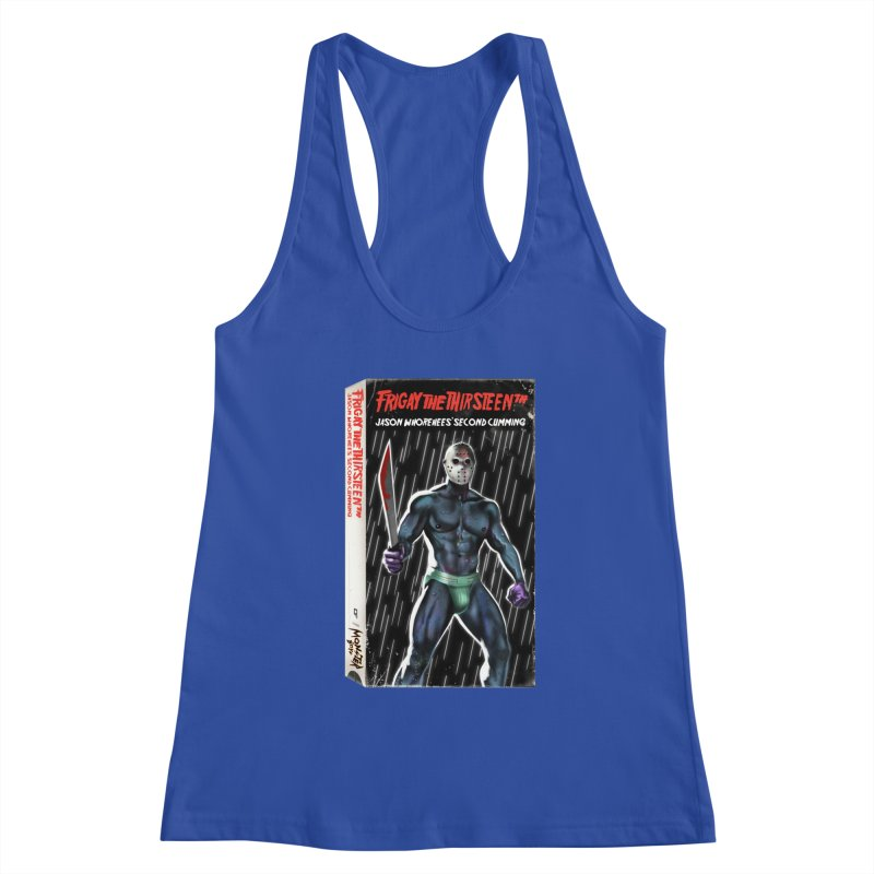 FRIGAY THE THIRSTEENTH VHS COVER Women's Tank by Stephen Draws's Artist Shop