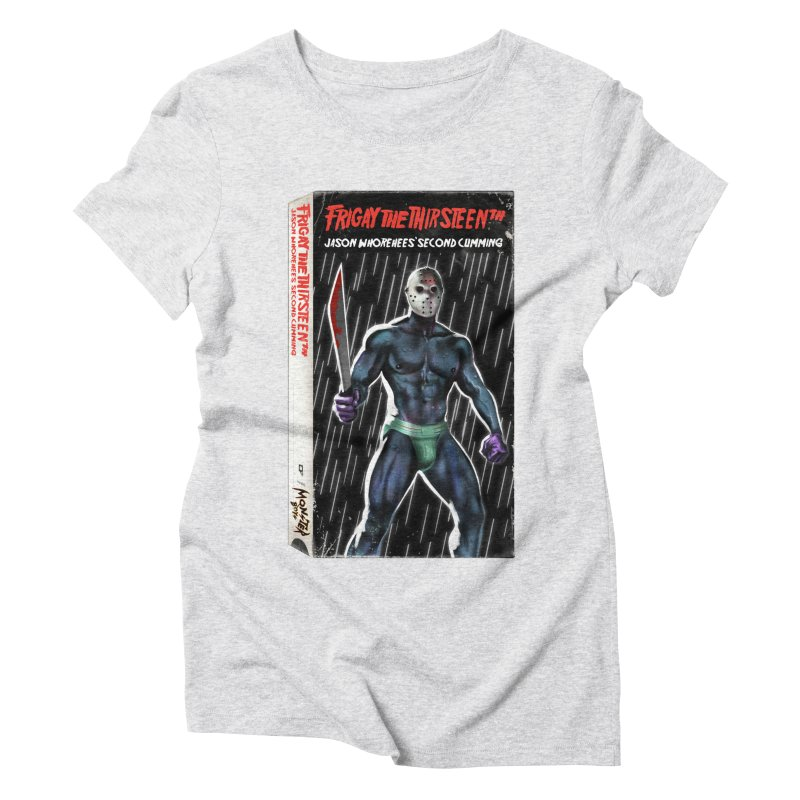 FRIGAY THE THIRSTEENTH VHS COVER Women's T-Shirt by Stephen Draws's Artist Shop