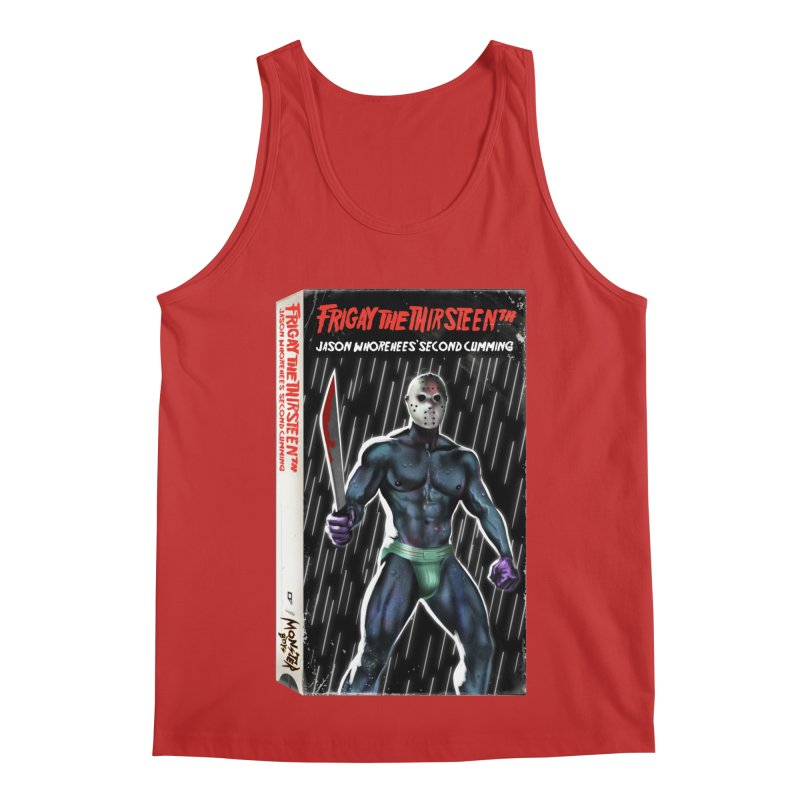 FRIGAY THE THIRSTEENTH VHS COVER Men's Regular Tank by Stephen Draws's Artist Shop
