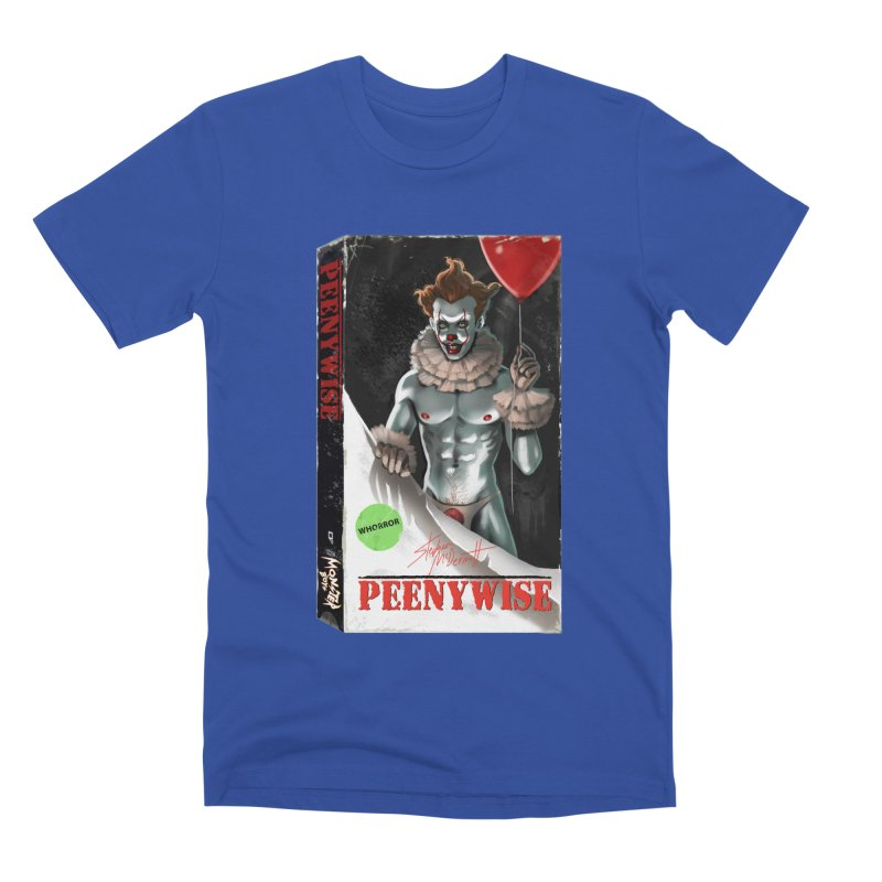 PEENYWISE VHS COVER Men's Premium T-Shirt by Stephen Draws's Artist Shop