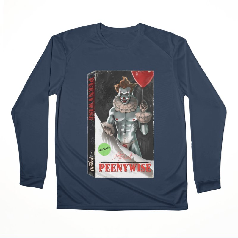 PEENYWISE VHS COVER Women's Performance Unisex Longsleeve T-Shirt by Stephen Draws's Artist Shop