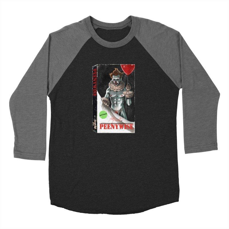PEENYWISE VHS COVER Women's Baseball Triblend Longsleeve T-Shirt by Stephen Draws's Artist Shop