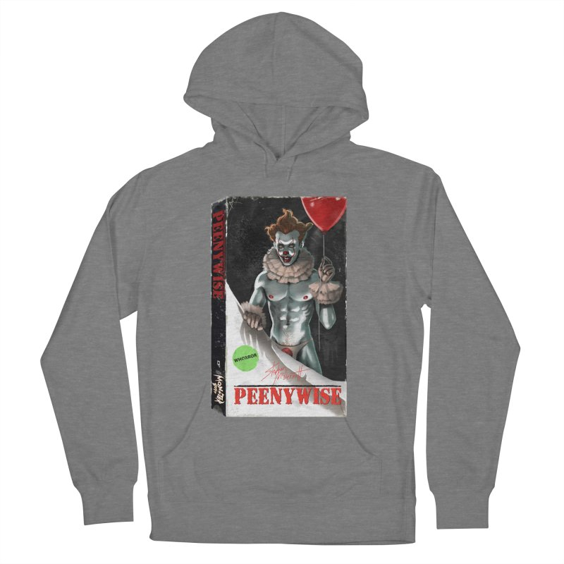 PEENYWISE VHS COVER Women's French Terry Pullover Hoody by Stephen Draws's Artist Shop