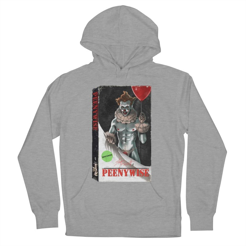 PEENYWISE VHS COVER Men's French Terry Pullover Hoody by Stephen Draws's Artist Shop