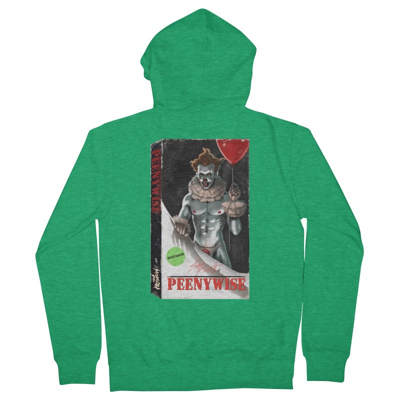 PEENYWISE VHS COVER Women's Zip-Up Hoody by Stephen Draws's Artist Shop