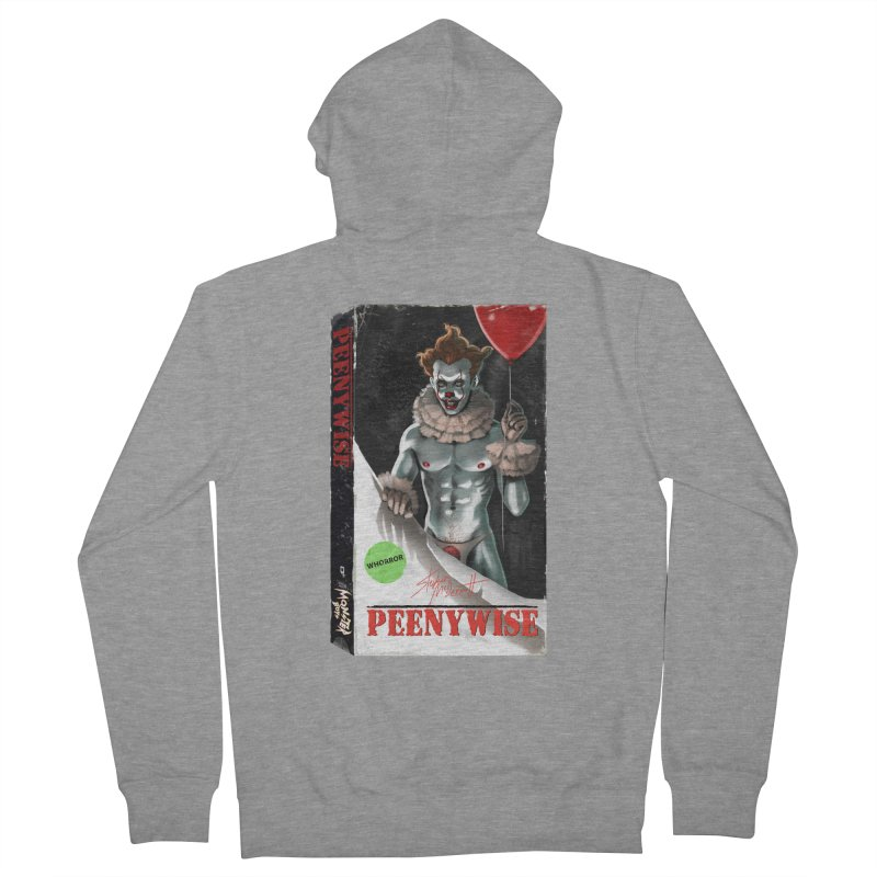 PEENYWISE VHS COVER Women's French Terry Zip-Up Hoody by Stephen Draws's Artist Shop