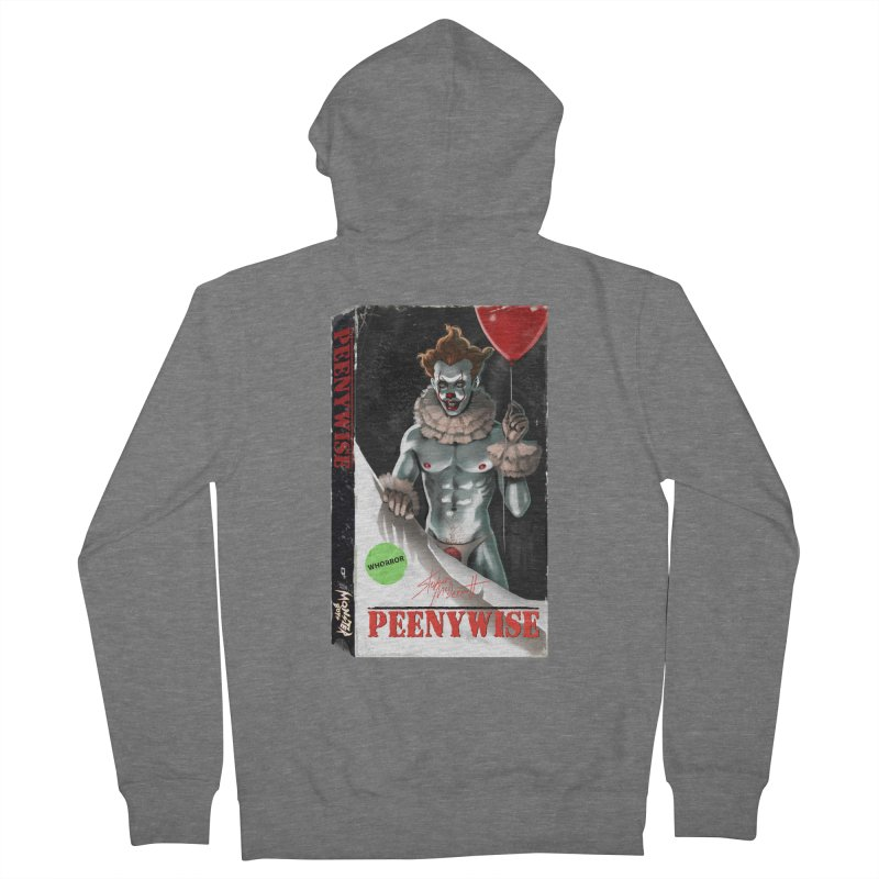 PEENYWISE VHS COVER Men's French Terry Zip-Up Hoody by Stephen Draws's Artist Shop