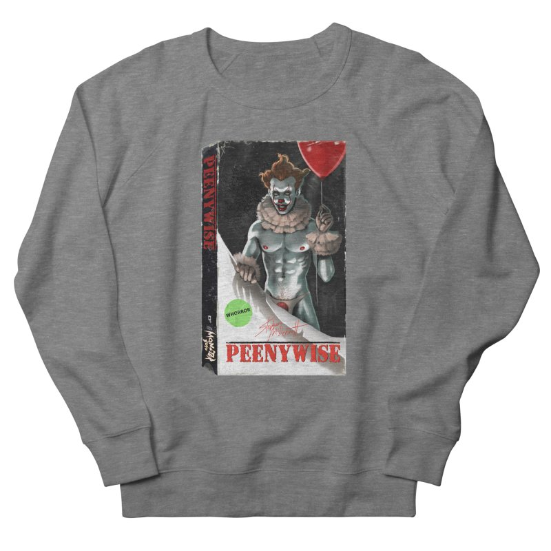 PEENYWISE VHS COVER Men's French Terry Sweatshirt by Stephen Draws's Artist Shop