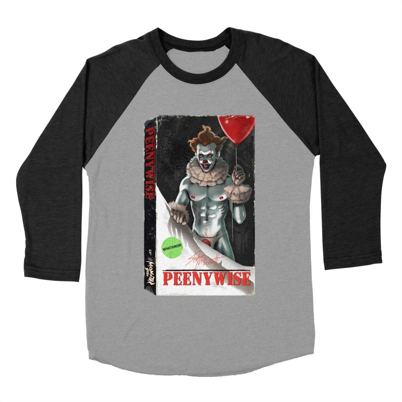 PEENYWISE VHS COVER Women's Baseball Triblend Longsleeve T-Shirt by Stephen Draws's Artist Shop